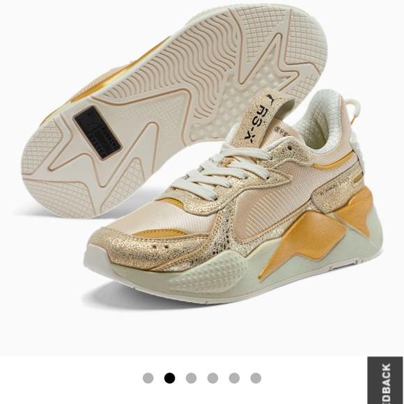 Puma Shoes | Rsx Winter Tennis 75 Gold